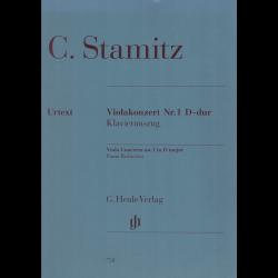 Stamitz - Concerto n°1 ré maj pour alto et piano