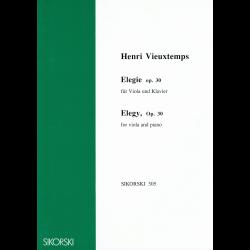 Vieuxtemps - Elegie pour alto et piano