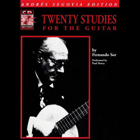 Sor - 20 studies - guitar (+CD)