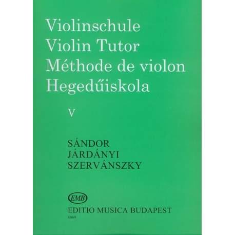 Sandor Méthode de violon IV/b