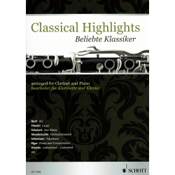 Classical highlights - clarinette et piano