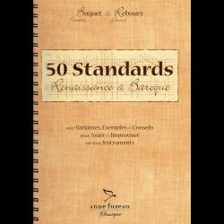 Boquet - 50 standards renaissance et baroque (in frans)