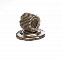 Steel magnetic pen holder
