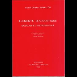 Mahillon - Eléments d'acoustique musicale et instrumentale