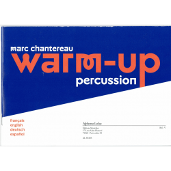 Chantereau - Warm-up -percussion
