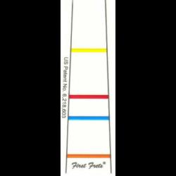 First Fret Indicator van vingers positie