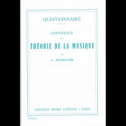 Danhauser - Appendice de la Théorie (in frans)