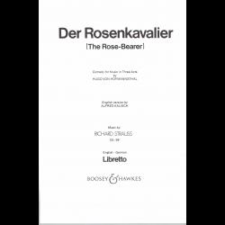 Strauss - Der Rosenkavalier (livret en allemand/anglais)