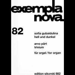 Gubaidulina/Pärt - Hell und Dunkel/Trivium - orgue