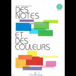 Allerme - Des Notes et des Couleurs - théorie (+CD) (in het frans)
