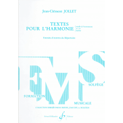 Jollet - Texte pour L'harmonie (in het frans)