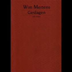 Mertens - Geslagen - percussions