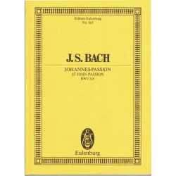 Bach - St Jan passion