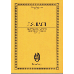 Bach - Passion selon St Mathieu (en allemand)
