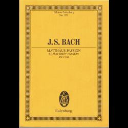 Bach - Passion selon St Mathieu (en allemand)