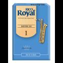 Anches (10) D'addario Royal saxophone baryton