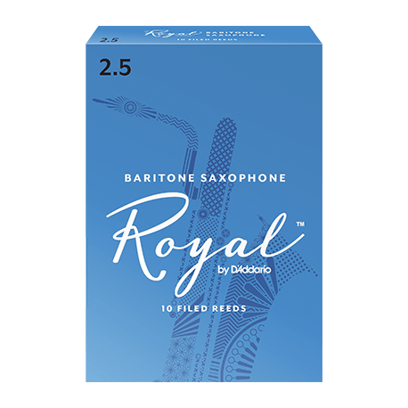 Anches (10) D'addario Royal saxophone baryton