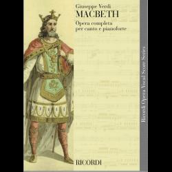 Verdi - Macbeth - opera (zang en piano)