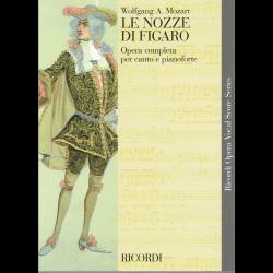 Mozart - le Nozze di Figaro - opéra (chant et piano)