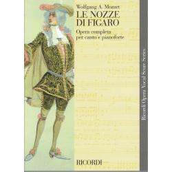 Mozart - le Nozze di Figaro - opera (zang en piano)