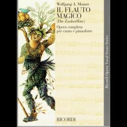 Mozart - Il flauto magico - opéra (chant et piano)