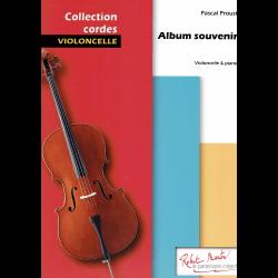 Proust - Album souvenir pour violoncelle et piano