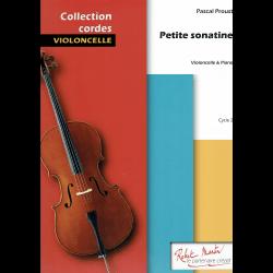 Proust - Petite Sonatine pour violoncelle et piano