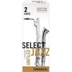 Anches D'addario Select Jazz pour sax baryton