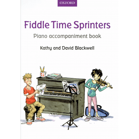 Blackwell - Fiddle Time Sprinters piano accompagnement - violon