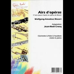 Mozart - Airs d'opéras pour clarinette et piano