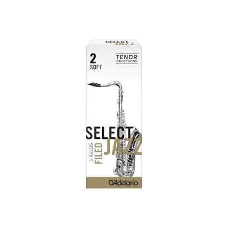 Anches D'addario Select Jazz pour sax ténor