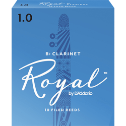 Anches (10) D'addario Royal clarinette si b