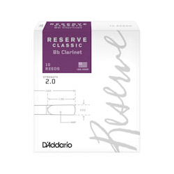 D'addario Reserve Classic Bb klarinet rieten (10)