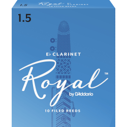 Anches (10) D'addario Royal clarinette mi b