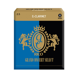 Anches (10) D'addario Grand Concert Select clarinette mi b