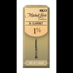 D'addario Mitchell Lurie Premium rieten voor Bb klarinet