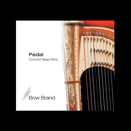 Cordes Bow Brand Métal pour harpe à pédalebow brand pedal métal