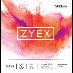 Cordes D'addario Zyex contrebasse