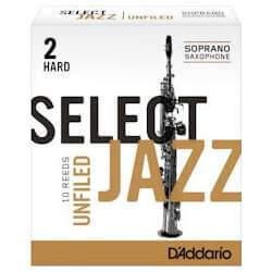 Anches D'addario Select Jazz pour sax soprano