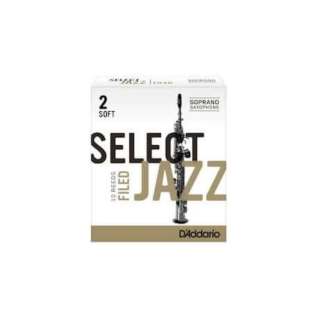 Anches D'addario Select Jazz pour sax soprano