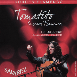 Cordes Savarez Tomatito T50 pour guitare flamenco