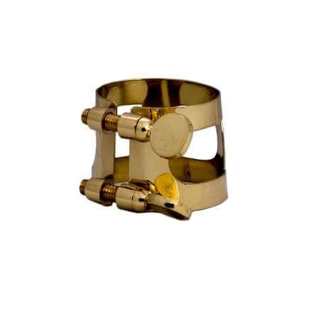 Ligature métal pour saxophone alto