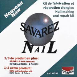Kit d'entretien des ongles 'Savarez Nail Care'