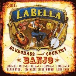 Jeu (5) LaBella Bluegrass pour banjo