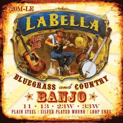 LaBella snaren (4) set voor tenorbanjo