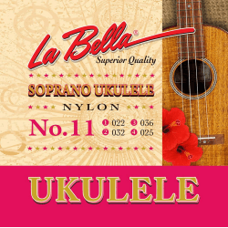Jeu LaBella Senorita pour ukulele