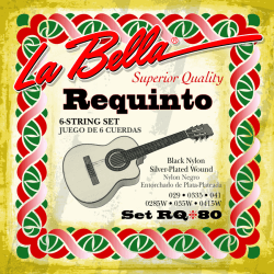 LaBella snaren set voor requinto