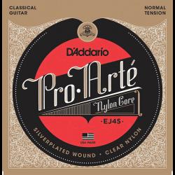 Jeu D'addario Pro Arte EJ45 pour guitare classique