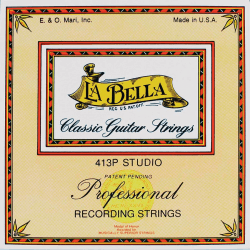 Jeu La Bella 413 P guitare classique