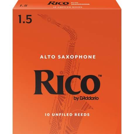 Anches (10) D'addario saxophone alto